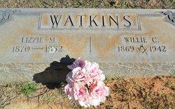 Elizabeth Elfredia Lizzie <i>Moore</i> Watkins