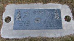 Heber Alma Adams