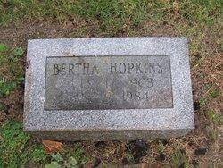 Bertha Hopkins