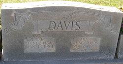 Ada Lucinda <i>Cave</i> Davis