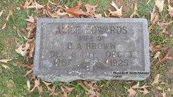 Alice <i>Edwards</i> Brown