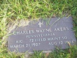 Charles Wayne Akers