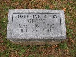 Josephine <i>Busby</i> Grove