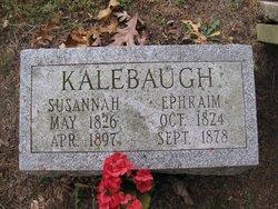 Susannah <i>Trone</i> Kalebaugh