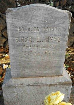 Charles W. Akao