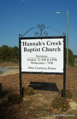 Hannahs Creek Primitive Baptist Church Cemetery