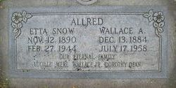 Wallace Anderson Allred