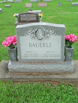 Mary Elizabeth <i>Everhart</i> Bauerle