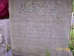 Lieut John Jack Martin