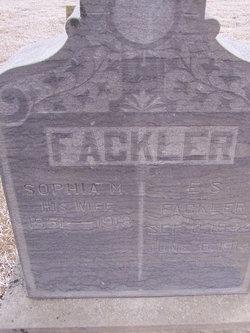 Sophia M. <i>Gates</i> Fackler
