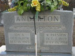 W. Preston Anderton