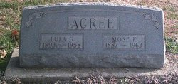 Moses Acree