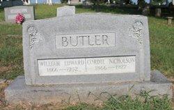 Cordie E. <i>Nicholson</i> Butler