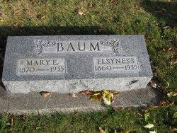 Mary Eva <i>White</i> Baum
