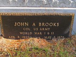 Col John Adams Brooks