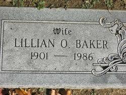 Lillian Lillie <i>Owen</i> Baker
