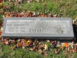 Ada Elizabeth <i>Tull</i> Faebus