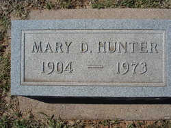 Mary <i>Douthit</i> Hunter