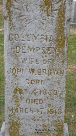 Columbia J <i>Dempsey</i> Brown