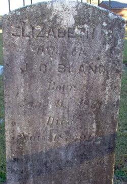 Elizabeth Jane <i>Cannon</i> Bland