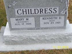 Mary M. <i>Mulvaney</i> Childress