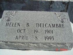 Helen <i>Boudreaux</i> Delcambre