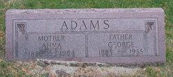 Susanah Elizabeth Anna <i>Bailey</i> Adams