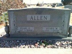Pearl E Allen