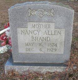 Nancy E Nannie <i>Doss</i> Allen Brand