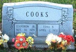 Edna Bernice <i>Wilson</i> Cooks