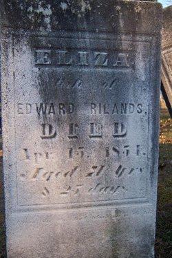 Elizabeth Eliza <i>Isenhour</i> Rilands