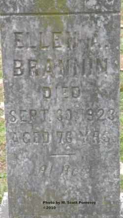 Ellen A Brannin