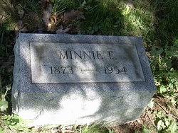 Minnie F <i>Roberts</i> Evans
