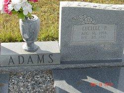 Lucille P. Adams