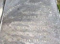Antoinette Virginia <i>Flewellen</i> Johnston
