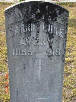 Carrie <i>Luke</i> Avery