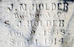Joseph Mitchell Holder