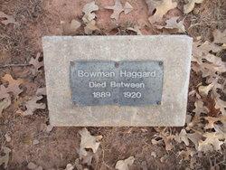 Bowman Haggard