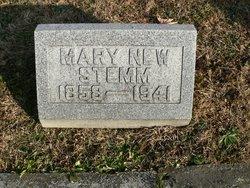 Mary <i>New</i> Stemm