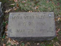 Myra <i>Webb</i> Altman