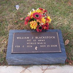 William James Bill Blackstock