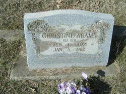 Christine <i>Reid</i> Adams