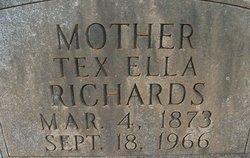 Texas Ella <i>York</i> Richards
