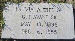 Olivia A. <i>Simmons</i> Avant