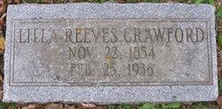 Lilla <i>Reeves</i> Crawford