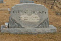 Martha E Christenberry