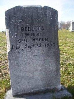 Rebecca <i>Miller</i> Nycum