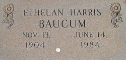 Ethelan <i>Harris</i> Baucum