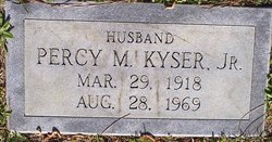 Percy M Kyser, Jr