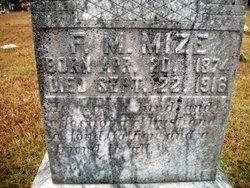 Forney M. Mize